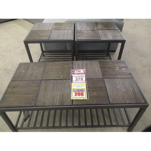 CLEARANCE 3 PK TABLES