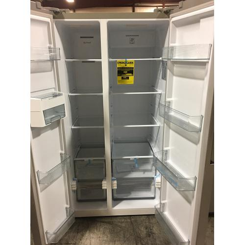 Ascoli Side By Side Counter Depth Stainless Refrigerator 21 CF.