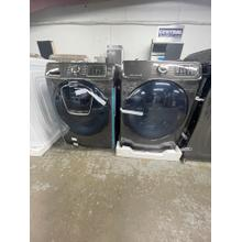 See Details - **ANKENY LOCATION** 4.5 cu. ft. Smart Front Load Washer with AddWash™ in Black Stainless Steel **WASHER & DRY SET**