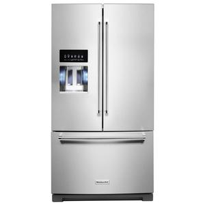 Kitchenaid 27.0CF Stainless Steel French Door Refrigerator Product Image