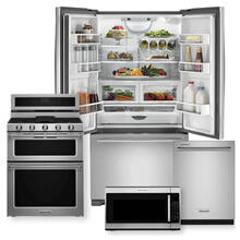 JENNAIR/KITCHENAID Counter Depth French Door Package w/ Dual Fuel Range- Minor Case Imperfections