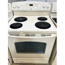 "USED- GE® 30"" Free-Standing Electric Range E30BISCOIL-U SERIAL #5"