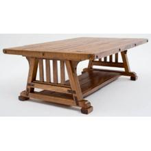 Bungalow Craftsman Coffee Table