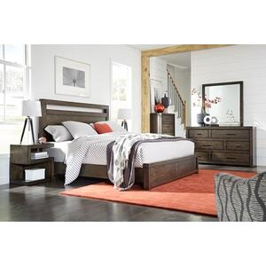 MODERN LOFT King Panel Bed