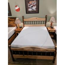 See Details - Hickory Queen Panel Bed