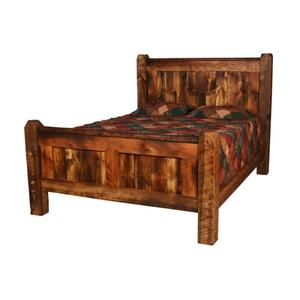 Weathered Timber Bed