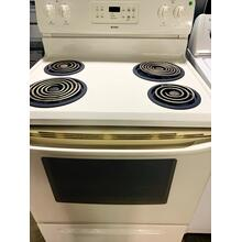 "USED- GE 30"" Free-Standing Electric Range - E30BISCOIL-U SERIAL #9"