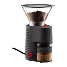 See Details - Bistro Electric Burr Coffee Grinder Black
