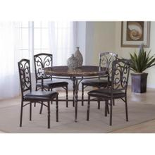 View Product - BERNARDS 4550 Tuscan 5-Piece Dinette - Table And 4 Chairs