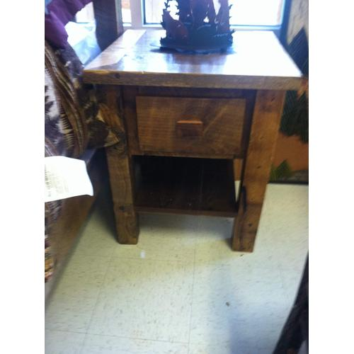 1 Drawer Barnwood Nightstand