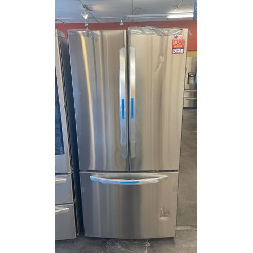 Treviño Appliance - LG 3 Door French Door Refrigerator in PrintProof Stainless Steel