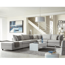 Light Grey 5PC Sectional