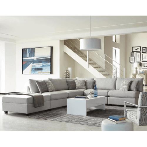 Coaster - Light Grey 5PC Sectional