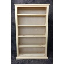 See Details - Maine Made 36X60 Bookcase 36W X 60H X 13D Pine Unfinished