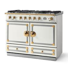 Cornufe 110 - Pure White with brass finish