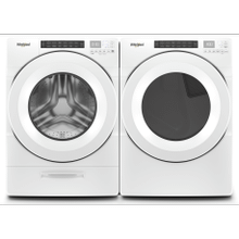 Whirlpool Front Load Laundry Pair WFW/YWED/5620HW