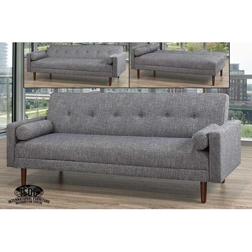 Grey Linen Sofa Bed