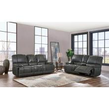 Power Console Loveseat	Gin Rummy Charcoal
