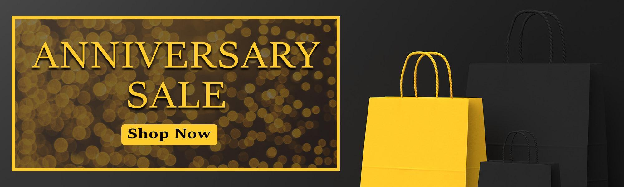 Anniversary Sale - Shop Now