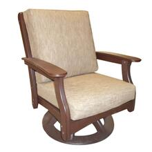 Deep Seating Swivel Rocking Chair