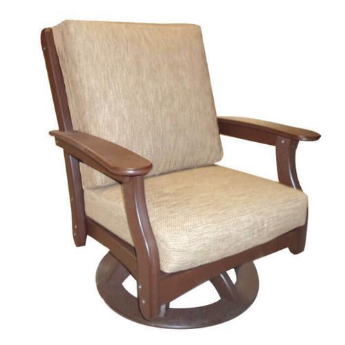 Deep Seating Swivel Rocking Chair