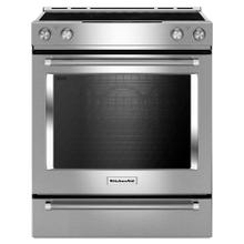 Kitchenaid 7.1CF Electric Smooth Top Convection Range with Self Clean