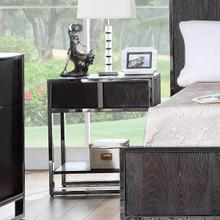 City Scape Dark Ceruse Nightstand