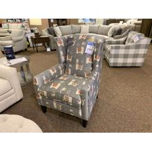 View Product - Llama Print Accent Chair - Customizable