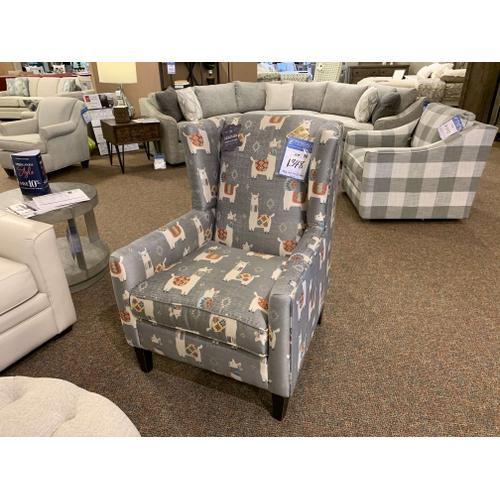 Mayo Furniture - Llama Print Accent Chair - Customizable