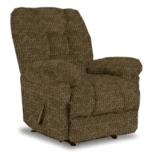 ORLANDO CHAISE ROCKER RECLINER in COGNAC        (6N47-19976,39885)