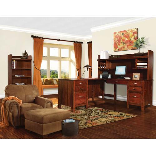 Amish Craftsman - Jacobsville Bookcases