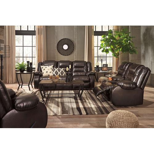 Ashley Furniture - Vacherie Reclining Console Loveseat
