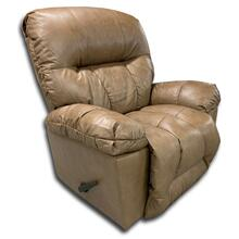 Genuine Leather Rocker Recliner