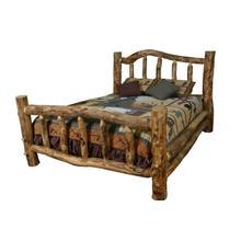 See Details - Aspen Log Bed w/ Curvy Rail
