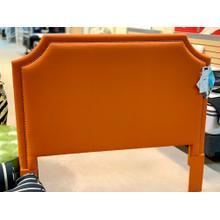 View Product - Custom Uph Beds Florence Clipped Corner Queen Headboard-Floor Sample