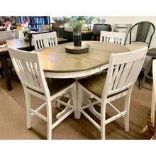 """See Details - """"Beach House"""" Round Counter Height Set"""