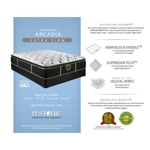 ComfortCare - Arcadia - Extra Firm