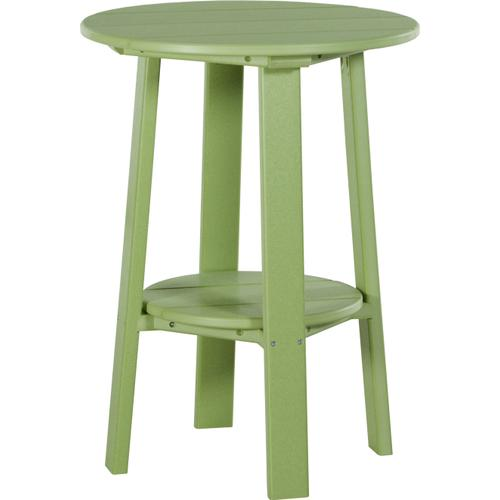 """Deluxe End Table 28"""" Lime Green"""