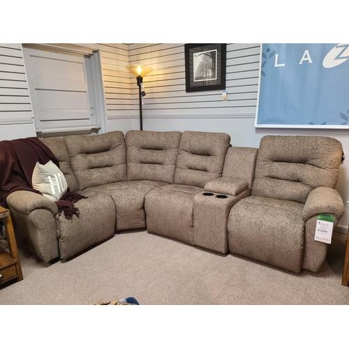 Best Home Furnishings - Unity Reclining Sectional - Umber