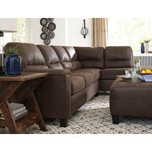 Ashley Sectional Navi Chestnut Polyester . CC:  W