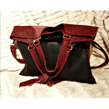 Rectangular crossbody bag