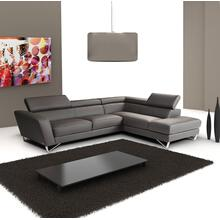 Sparta Italian Leather Sectional