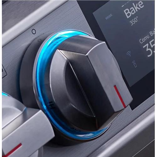6.0 cu. ft. Slide-In Gas Range with Flex Duo™ & Dual Door in Stainless Steel