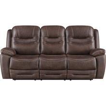 Turismo Brown Power Sofa