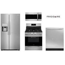 Frigidaire Gallery Package with Counter Depth Side by Side Refrigerator