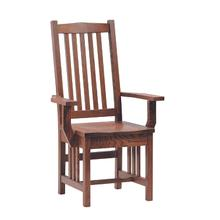 See Details - Mission Arm Chair