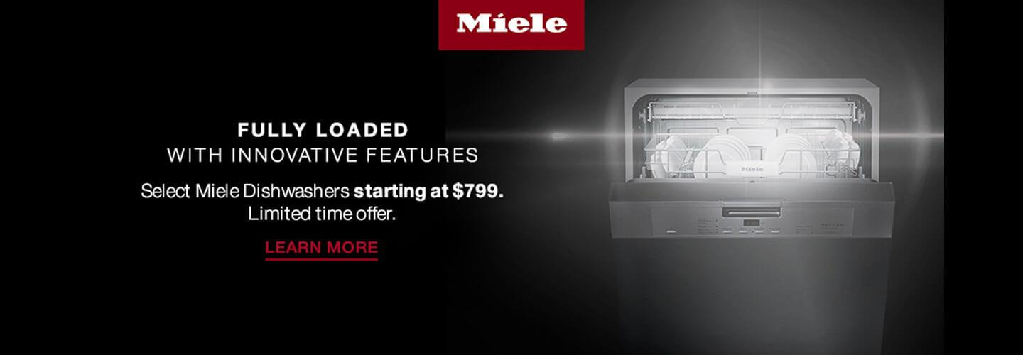 Miele Dishwashers | Shop Now!