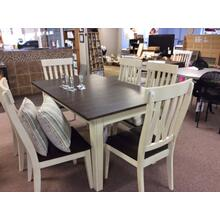 View Product - Vers-A-Table and Slatback Side Chairs