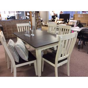 A America - Vers-A-Table and Slatback Side Chairs