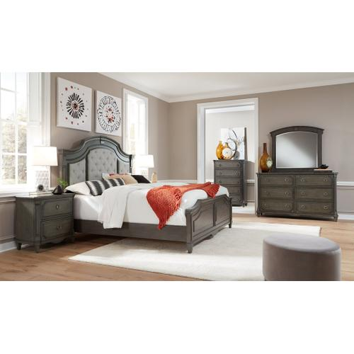 Carnaby Charcoal Gray Queen Bedroom Set